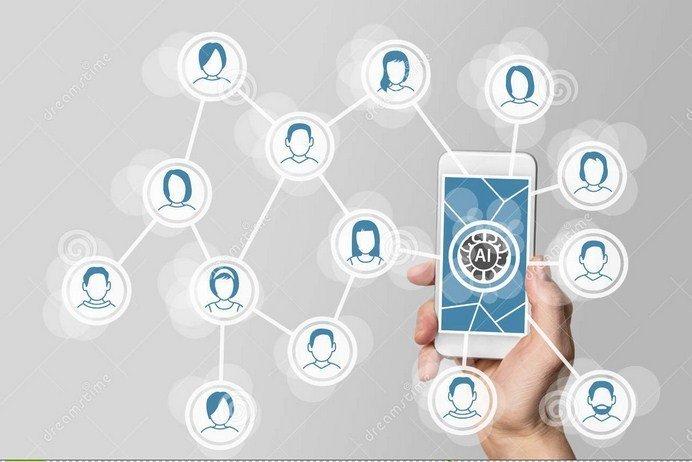 La Inteligencia Artificial enseña a las empresas a participar en las redessociales