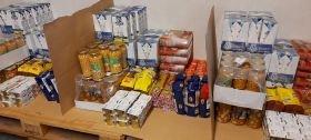El ayuntamiento inicia el reparto de alimentos procedentes de Fondos Europeos