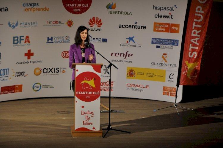 La comisaria europea de Innovación asiste a una nueva jornada del evento tecnológico Startup Olé