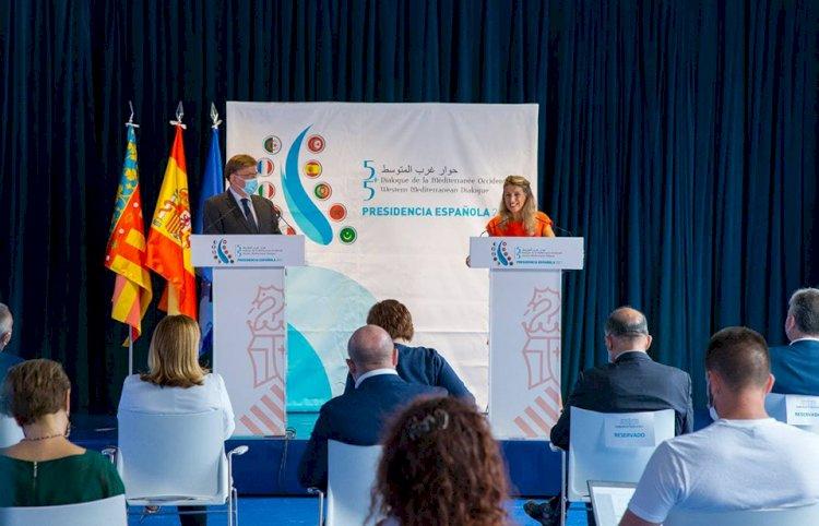 Alicante albergará el 7 de octubre la reunión de ministras y ministros de trabajo en el Foro del Mediterráneo Occidental