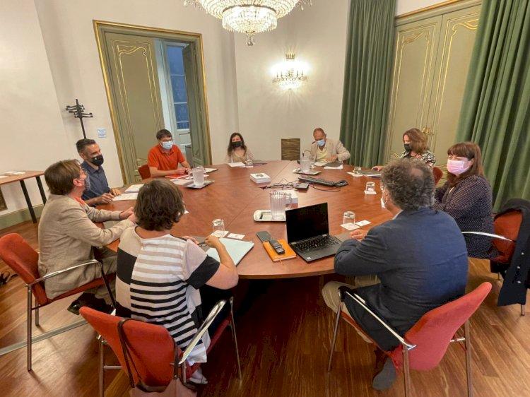 El ministerio de Cultura y Deporte, la Generalitat de Catalunya y el ayuntamiento de Barcelona se reúnen para activar el proyecto de construcción de la biblioteca pública estatal